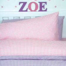gingham bed linen set by tessuti notonthehighstreet com