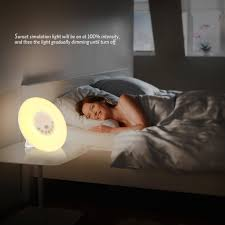 Wake Up Light Alarm Clock Amazon Inlife Wake Up Light Alarm Clock U2013 Only 16 50