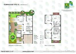 Town House Floor Plans Floor Plans Yasmina U2013 Al Raha Gardens