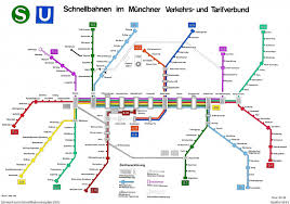 Munich Germany Map by Tube Maps Visualign