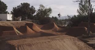 Bmx Backyard Dirt Jumps What U0027s In Your Back Garden Pat Casey Has Every Bm