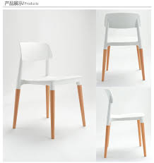 White Chairs For Living Room Wood Plastic Chair Wood Dining Chair Living Room Furniture