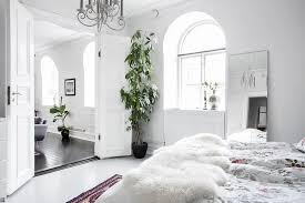 scandinavian home design combining white black and original decor