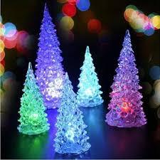 tree ornament acrylic colorful mini