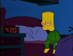 Bart Simpson Meme - bart simpson high af blank template imgflip