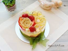 cuisine bavaroise my bowl is fullpear bavaroise mousse cake