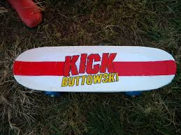 Skateboard Halloween Costumes Homemade Kick Buttowski Costume Skateboard Prop Kids Party