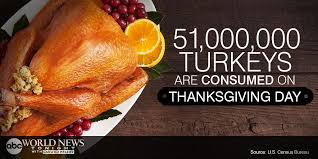 answer 51 000 000 turkeys are consumed on thanksgiving day