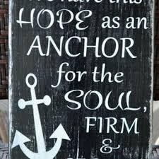 Love Anchors The Soul 8x10 - shop anchor verse on wanelo