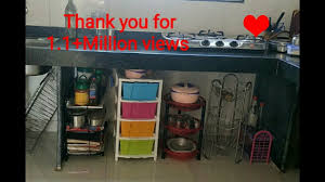 how can i organize my kitchen without cabinets kitchen tour how to organise unfurnished kitchen without cabinets