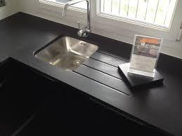 plan de travail cuisine noir pailleté evier cuisine granit evier cuisine granit blanc evier cuisine