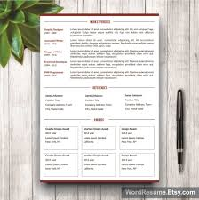 resume format in ms word 2007 professional 2 page resume template cover letter portfolio resume template mockup2