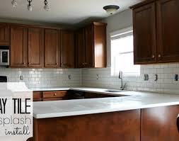 how to install a backsplash in the kitchen kitchen kitchen makeover subway tile backsplash installation