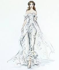323 best brides dress sketches images on pinterest fashion