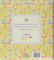 baby 1st year book baby s year memories for a keepsake journal of