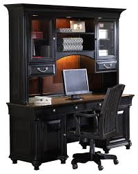 Cherry Computer Desk With Hutch Durham Collection Credenza And Hutch Chocolate And Cherry