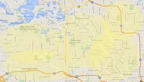 Novi Michigan Map by Cat Tastic Net Service Area