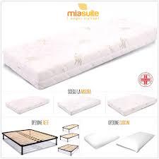 offerta materasso lattice materassi eminflex misure