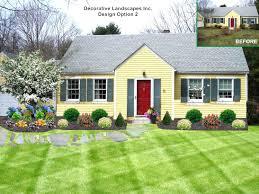 front yard landscape designs easy front yard landscaping ideas