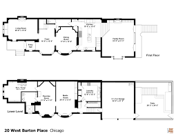 floor plans of mansions floor plan curbed chicago