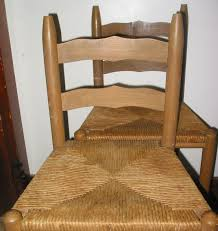 Bar Stool Chairs With Backs 1 Vintage Wood Painted Stencil Rush Wicker High Chair Low Back Bar