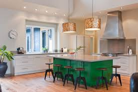 green kitchen islands standeven contemporary kitchen vancouver by stuart wood