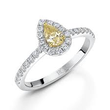 yellow diamond rings uk wedding promise diamond engagement