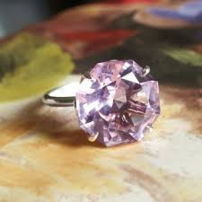 amethyst rings tiffany images Estate tiffany co octagon natural purple amethyst sparklers jpg