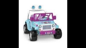 transformers jeep wrangler disney frozen jeep wrangler power wheels ride on youtube