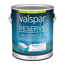 Exterior Paint And Primer - shop valspar reserve rain relief satin latex exterior paint