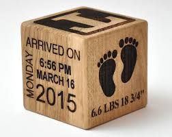 personalized wooden gifts personalised baby keepsake building block baby keepsake