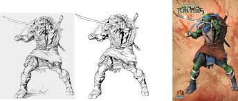 leonardo teenage mutant ninja turtles stages by cadre on deviantart
