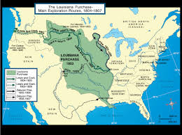 Manifest Destiny Map The Louisiana Purchase North Carolina Digital History Louisiana