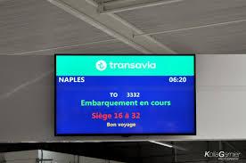 siege transavia review of transavia flight from to nápoli in economy