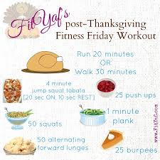 fityaf s post thanksgiving fitness friday workout fityaf