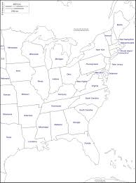 map of southeast canada blank map of southeast us blank outline map eastern united states