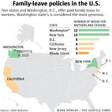Washington State Printable Map by Washington State U0027s New Parental Leave Law Could Change Workplace