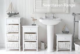 White Wooden Bathroom Furniture White Freestanding Bathroom Cabinet Free Standing White Wooden