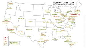 Minneapolis Map Usa by Map Of Major U S Cities State Better Largest Atlanta City