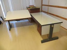 Desk With Drafting Table Two Piece Drafting Table With Desk L Shaped Studio Furniture