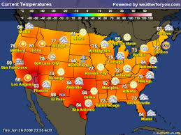 weather usa map current us temperature map uptowncritters color and temperature