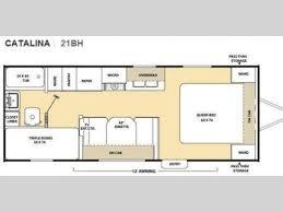 catalina rv floor plans used 2010 coachmen rv catalina 21bh travel trailer at pontiac rv