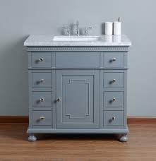 36 bathroom cabinet stufurhome abigail embellished 36 inches grey single sink bathroom