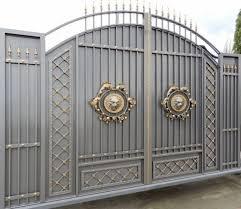 Home Design Gold Modern Gate Design For Elegant Home Decoration Ideas Stunning