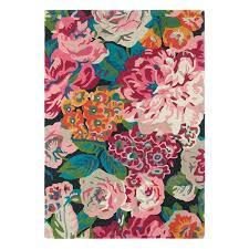 Modern Floral Rug Floral Rug Home Rugs Ideas