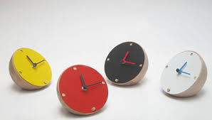 Modern Desk Clock The Launch Of Golf Studio248 Design Milk