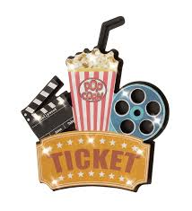 ticket movie reel clapperboard led light wall decor hollywood