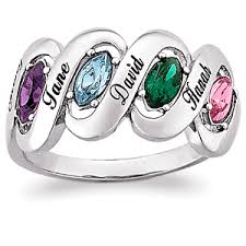 family birthstone rings s day family birthstone name ring 21458 limoges jewelry