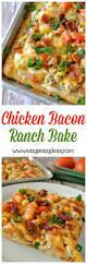 best 25 chicken bacon ranch bake ideas on pinterest chicken