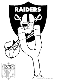 7 images of raiders football coloring pages oakland raiders